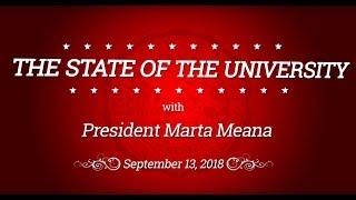 2018 State of the University Address