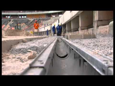 Obras de construção do teto da Arena Manaus permanecem suspensas