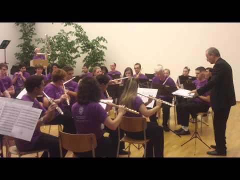 Vincenzo Sorrentino: Fluten II Galway Flute Choir -Nicola Mazzanti