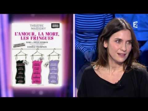 Gregori Derangère - On n'est pas couché Laurent Ruquier avec Natacha Polony & Aymeric Caron Géraldine Pailhas & Grégori Derangère Fiction