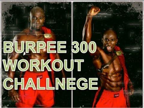 Burpee 300 Workout Challenge