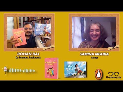 Booknerds Podcast | Samina Mishra | Jamlo Walks | Nida finds a way