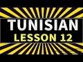 Learn the Arabic Tunisian language Lesson 12