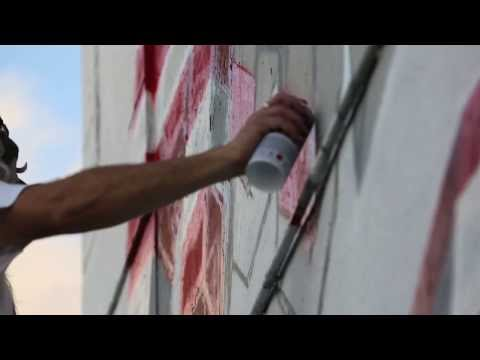 Video: Brand Wade Mural With INSA – Miami Art Basel -13