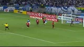 Um gol de placa do meia Everton Ribeiro do Cruzeiro Esporte Clube.