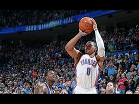 Vs. - Russell Westbrook sinks the amazing turnaround 3 with 0.1 seconds left to give the Thunder the BIG win. Visit nba.com/video for more highlights. About the NB...