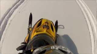 6. Ski-Doo REV MXZ 600 HO SDI Carving In Powder