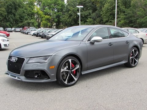 2015 Audi RS 7 Sportback Start Up, Test Drive, and In Depth Review