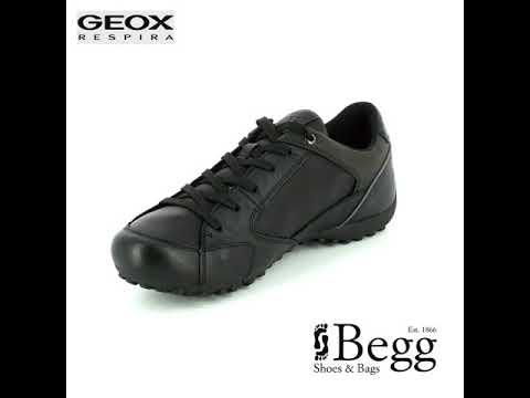 Geox Uomo Snake A U7407A-C9999 Black casual shoes
