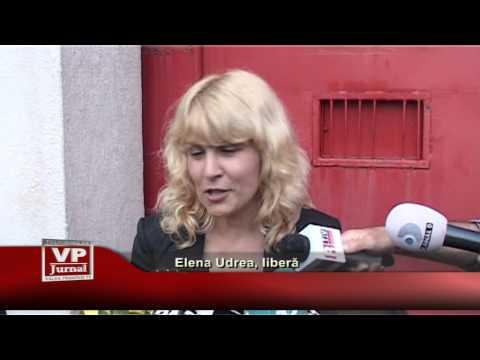 Elena Udrea, libera
