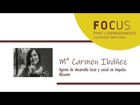 Entrevista Mª Carmen Ibáñez en Focus Pyme y Emprendimiento L´Alacantí 2019