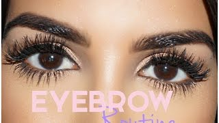 Eyebrow Tutorial - YouTube