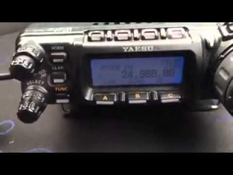 Atas 120 on a triple mag mount (видео)