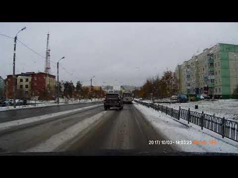 Авария в Ноябрьске