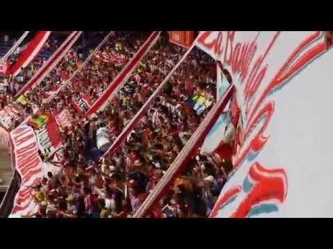 Vamo' Vamo' Tiburones Vamo' a Ganar - FRBS La Banda Del Tiburon LBK - Junior 2 vs 1 santa fe. - Frente Rojiblanco Sur - Junior de Barranquilla