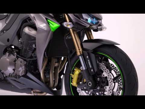 The new Kawasaki Z1000 - Official video