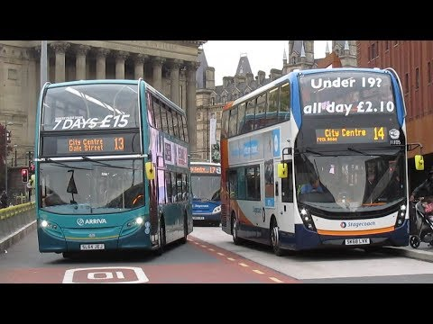 Buses & Trains Around Merseyside & Liverpool October 2018