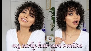 my curly haircare routine ! (for fast growth) by Simplynessa15