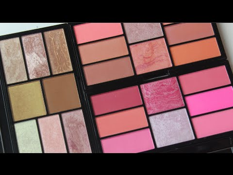 Freedom Makeup London Freedom Pro Blush Palette Peach and Baked