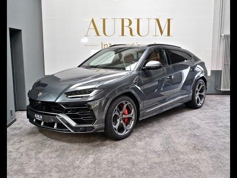 Lamborghini URUS *GRIGIO LYNX* (2019) SSUV Walkaround by AURUM International