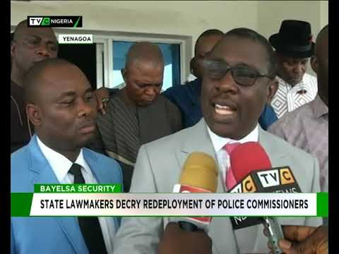 Bayelsa Assembly Decries Redeployment Of Police Commissioners