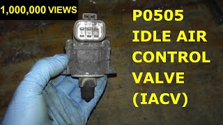9. How To Test and Replace Idle Air Control Valve P0505 HD