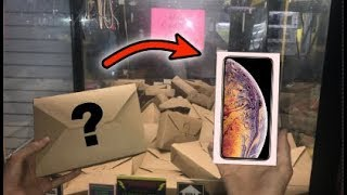 Video WON iPhone XS MAX from MYSTERY BOX CLAW MACHINE!!! | JOYSTICK MP3, 3GP, MP4, WEBM, AVI, FLV November 2018