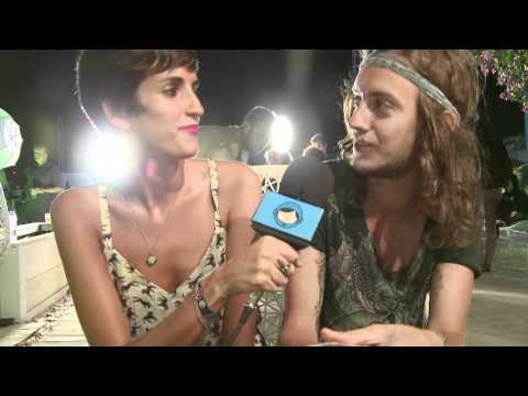 The Dandies @ FIB 2011, Benicàssim backstage