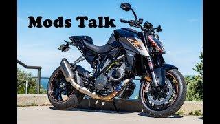 4. Mods Overview - 2018 KTM 1290 Super Duke R