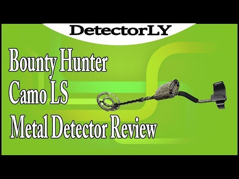 Bounty Hunter Camo LS Metal Detector Review