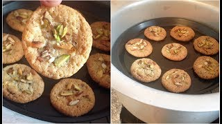 Biscuits Recipe Without Oven Cookie Recipe in a Pot or Vessel. Ingredients,,,, 1 cup All purpose flour ( Maida) 1/2 quick oats or...