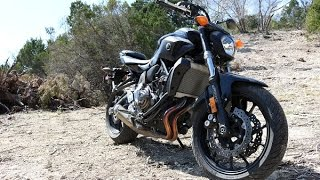 7. 2016 Yamaha FZ-07 First Ride and Impression