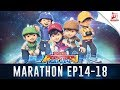Download Lagu BoBoiBoy Galaxy Marathon - Episod 14 - 18 Mp3 Free