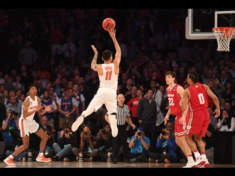 Florida beats wisconsin with insane buzzer beater