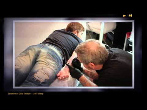 Terminus City Tattoo - Time Lapse w/ Jeff Harp