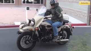 6. URAL Russian sidecar motorcycle - possible bug out vehicle?