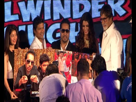Amitabh Bachchan Launch Music Of Movie 'Balwinder Singh Famous Ho Gaya'
