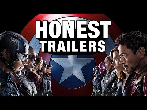 An Honest Trailer for Captain America Civil