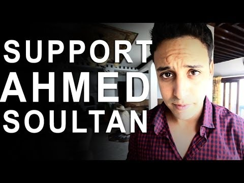 SUPPORTEZ AHMED SOULTAN, SUPPORTEZ L'ART MAROCAIN - MTV EMA 2013