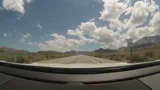 Yosemite to Las Vegas Time Lapse (Part 1)
