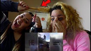 Video IF I LAUGH, SHE CUTS MY HAIR!! 😱 🤐 🤣  | Perkyy and Honeeybee MP3, 3GP, MP4, WEBM, AVI, FLV Januari 2018