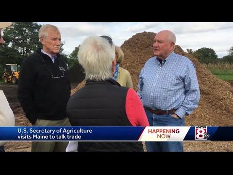 U.S. Secretary of Agriculture visits Maine