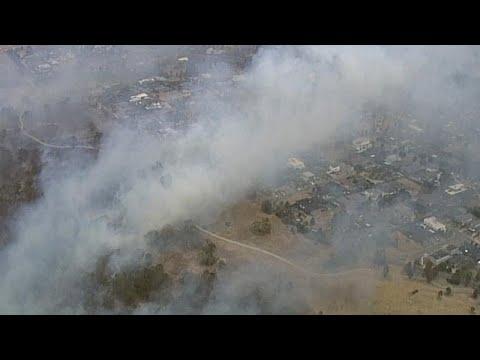 Μάχη με τις φλόγες στη Μελβούρνη