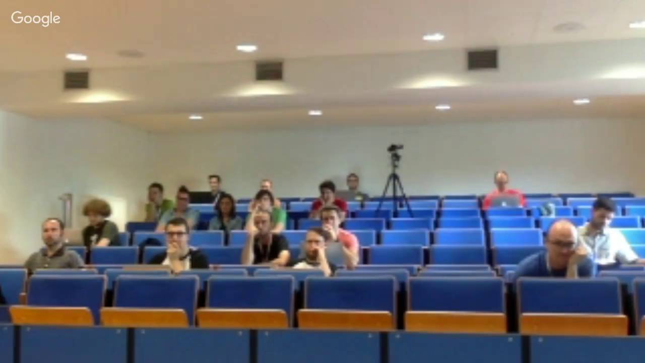 Thumbnail frame from DrupalCamp Ghent presentation video