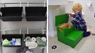 41 Bathroom Storage Hacks And Solutions That Will Make Getting Ready So Much Easier
