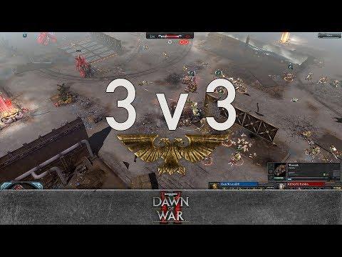 Dawn of War 2 - Faction Wars 2018   Orks v Eldar
