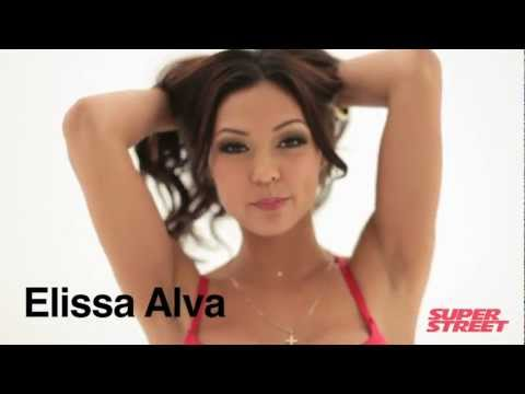 Elissa Alva – Super Street Magazine Top 15 Models (2011)