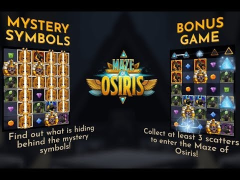 Maze of Osiris Online Slot from Relax Gaming
