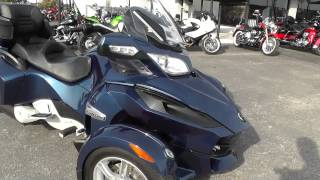 7. 001316 - 2011 Can Am Spyder RT S - Used Motorcycle For Sale