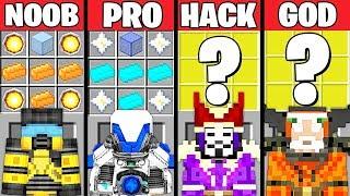 Video Minecraft Battle: POWERFUL ARMOR CRAFTING CHALLENGE - NOOB vs PRO vs HACKER vs GOD ~ Animation MP3, 3GP, MP4, WEBM, AVI, FLV Juni 2019